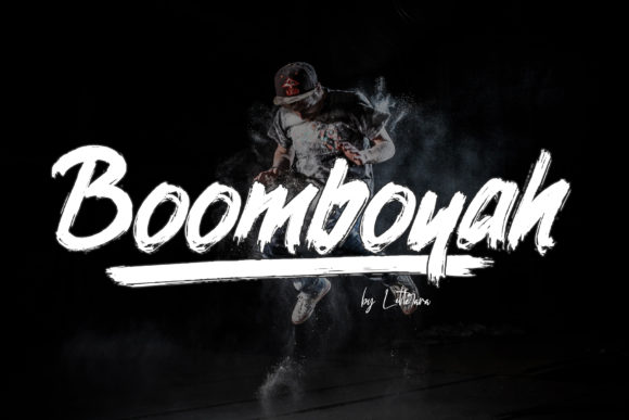 Print on Demand: Boomboyah Display Font By thomasaradea