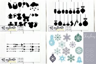 Print on Demand: Graphics Bundle Cut Files Graphic Crafts By illuztrate 8