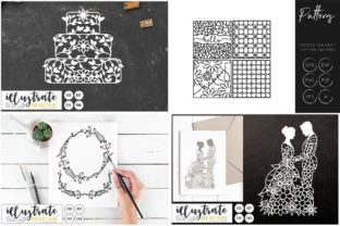Print on Demand: Graphics Bundle Cut Files Graphic Crafts By illuztrate 5