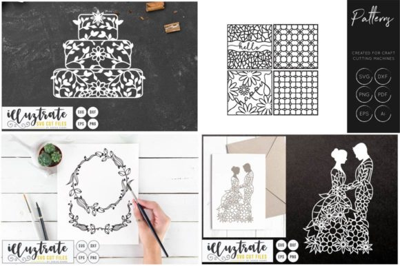 Print on Demand: Graphics Bundle Cut Files Graphic Crafts By illuztrate - Image 5