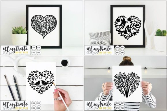 Print on Demand: Graphics Bundle Cut Files Graphic Crafts By illuztrate - Image 2