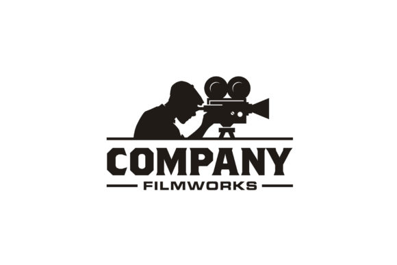 Download Free Vintage Video Camera Film Movie Logo Graphic By Enola99d for Cricut Explore, Silhouette and other cutting machines.
