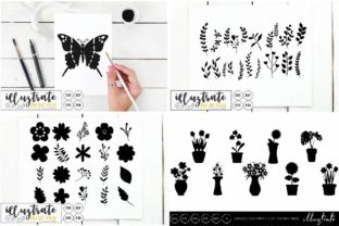 Print on Demand: Graphics Bundle Cut Files Graphic Crafts By illuztrate 6