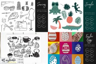 Print on Demand: Graphics Bundle Cut Files Graphic Crafts By illuztrate 9