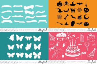 Print on Demand: Graphics Bundle Cut Files Graphic Crafts By illuztrate 4