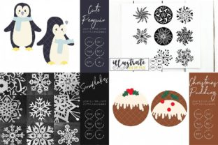 Print on Demand: Graphics Bundle Cut Files Graphic Crafts By illuztrate 7