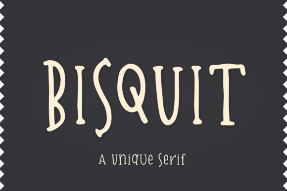 Print on Demand: Bisquit Serif Font By Ayca Atalay