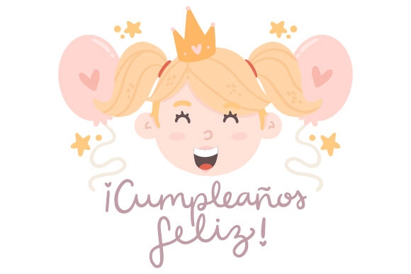 Download Free Cumpleanos Feliz Svg Cut File By Creative Fabrica Crafts for Cricut Explore, Silhouette and other cutting machines.