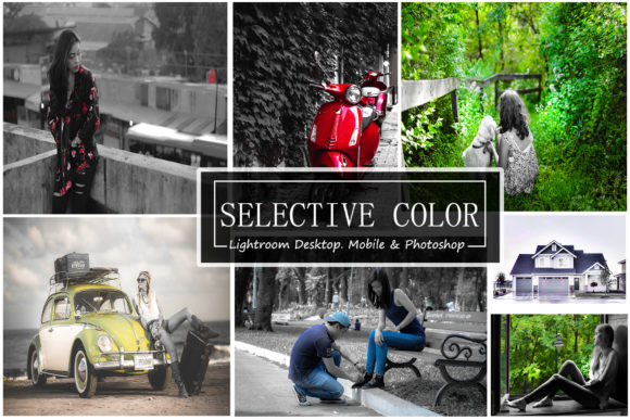 Selective Color - (LR,Mobile& PS PRESET) Graphic Actions & Presets By iTraitArt