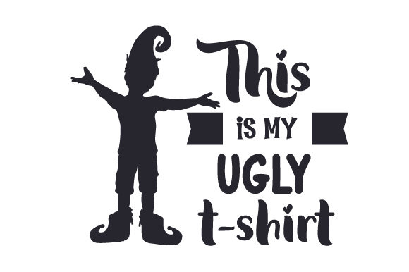 Download Free This Is My Ugly T Shirt Svg Cut File By Creative Fabrica Crafts for Cricut Explore, Silhouette and other cutting machines.