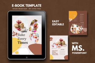 Download Free 16 Pages Recipe Template Graphic By Rivatxfz Creative Fabrica for Cricut Explore, Silhouette and other cutting machines.