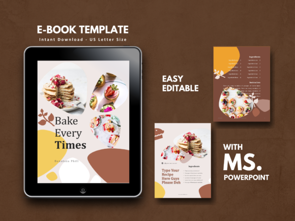 16 Pages Recipe Template Graphic By rivatxfz