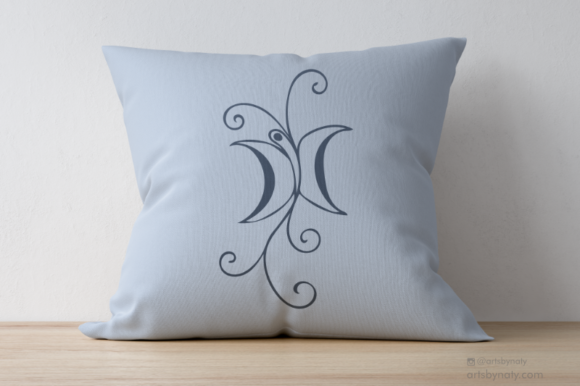 Print on Demand: Butterfly Arabesque Ornament Graphic Illustrations By artsbynaty - Image 2