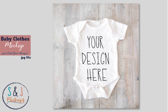 Baby Clothes Mockup Graphic Product Mockups By sandjmockups