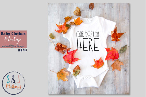 Download Free Kids Clothes Mockup Baby Clothes Mockup Graphic By Sandjmockups for Cricut Explore, Silhouette and other cutting machines.