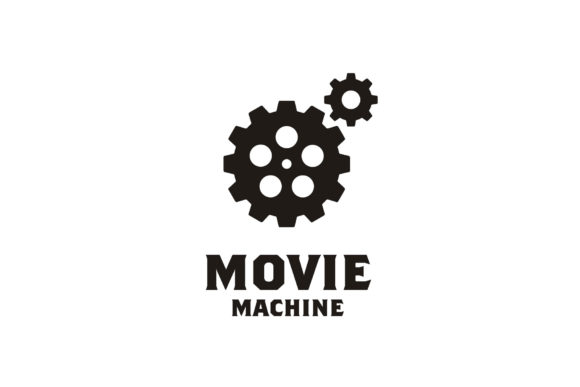 Download Free Film Reel Gears Movie Cinema Film Logo Graphic By Enola99d for Cricut Explore, Silhouette and other cutting machines.