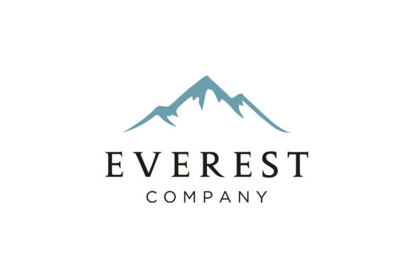 Everest Mountain Peak Logo Design Graphic By Enola99d Creative