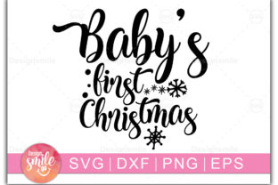 Print on Demand: Baby's First Christmas Graphic Crafts By Designdealy