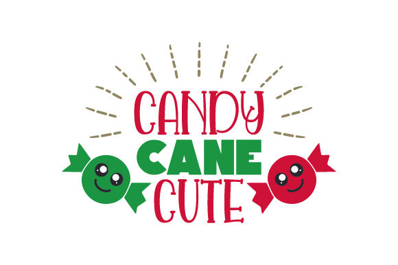 Download Free Candy Cane Cute Svg Cut File By Creative Fabrica Crafts for Cricut Explore, Silhouette and other cutting machines.