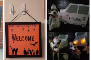 Haunting Halloween crafts from the Community