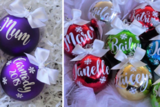 Personalized Christmas Gifts: Christmas Ornaments