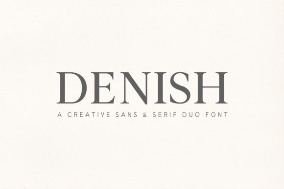 Print on Demand: Denish Sans Serif Fuente Por Creative Tacos