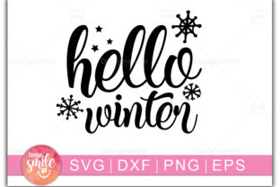 Print on Demand: Hello Winter Graphic Crafts By Designdealy