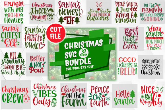 Download Free Christmas Design Big Bundle Graphic By Orindesign Creative Fabrica SVG Cut Files