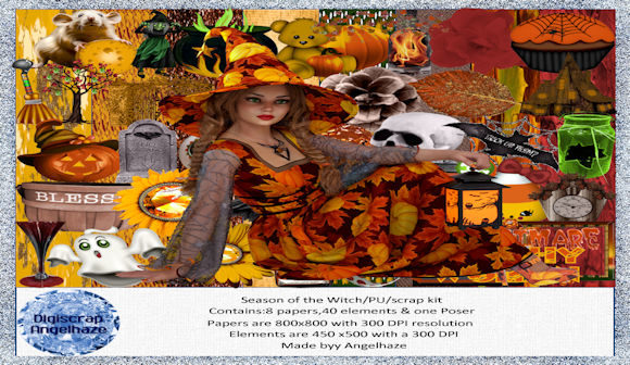 Season of the Witch Graphic By Digiscrap Angelhaze
