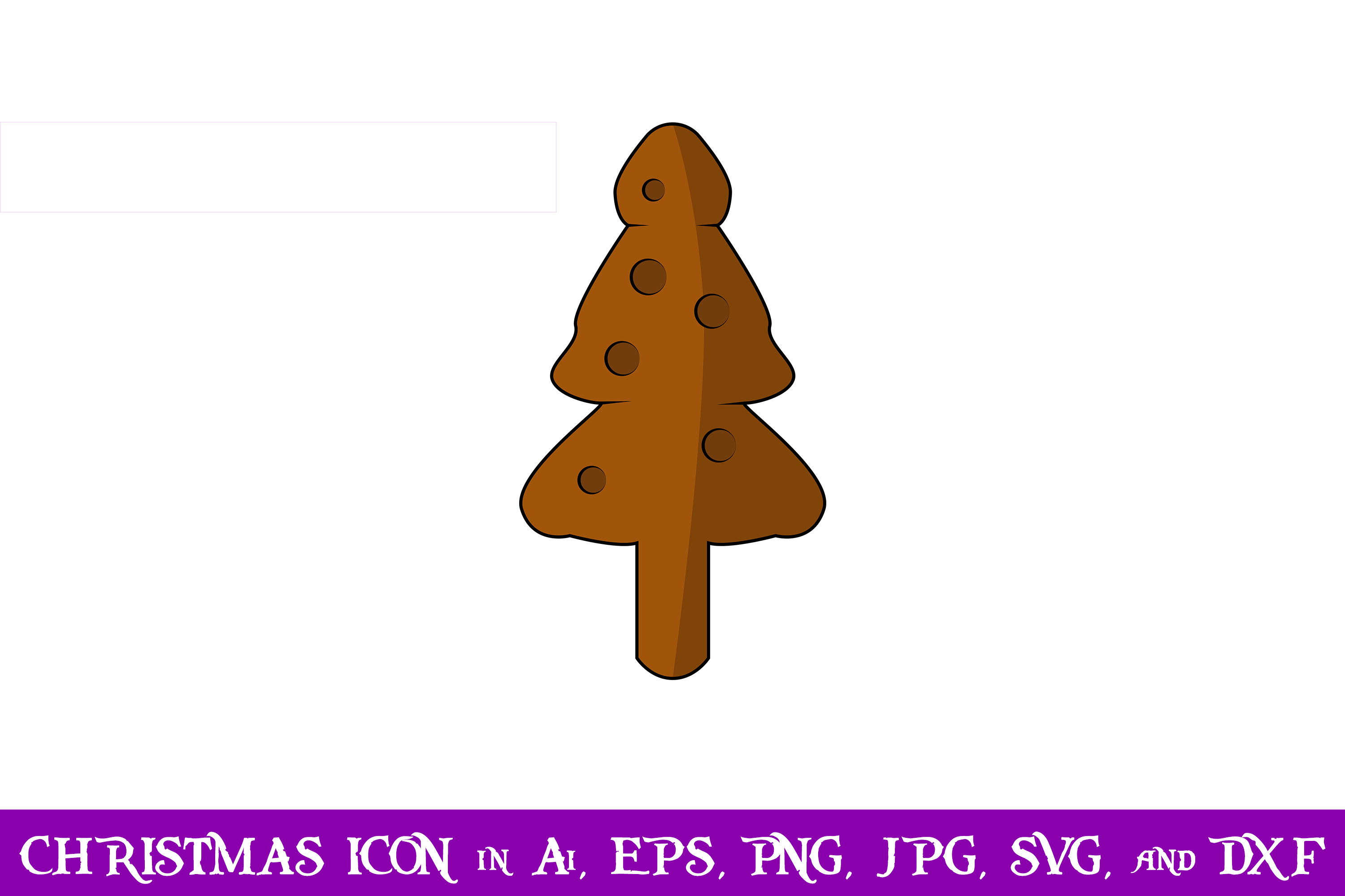 Download Free Tree Cookies Christmas Icon Graphic By Purplespoonpirates for Cricut Explore, Silhouette and other cutting machines.