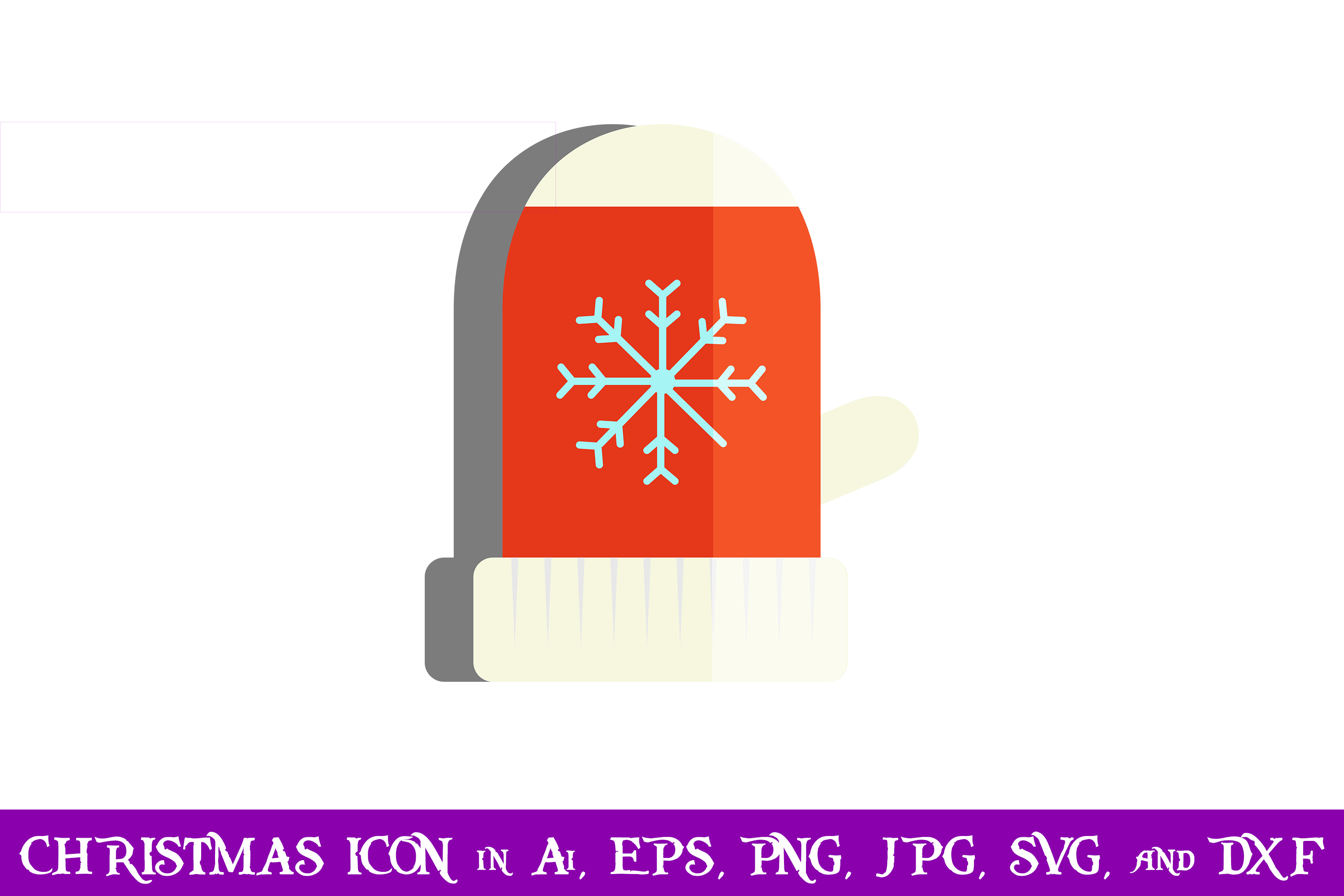 Download Free Gloves Christmas Icon Graphic By Purplespoonpirates Creative for Cricut Explore, Silhouette and other cutting machines.