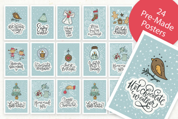 Snow Angel Big Christmas Pack Graphic By Red Ink Image 5