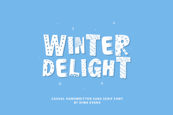 Winter Delight Sans Serif Font By Dmitrii Chirkov