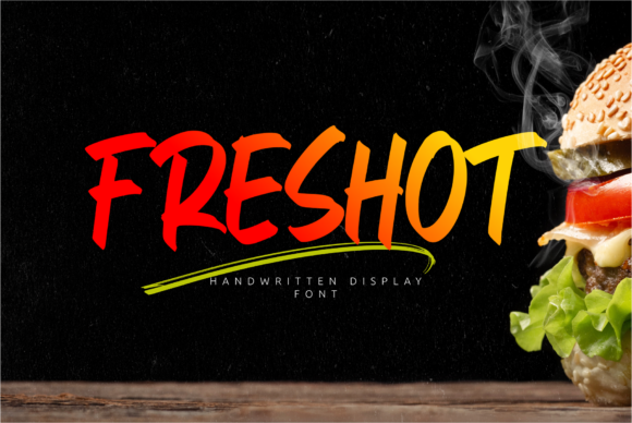 Print on Demand: FresHot Script & Handwritten Font By Omotu