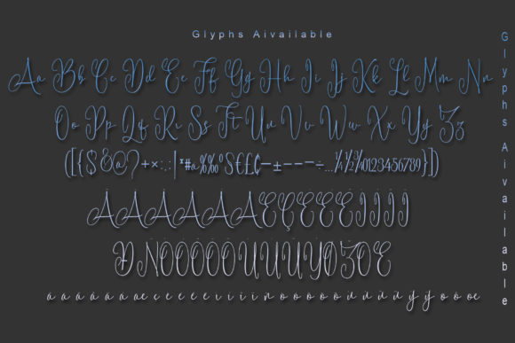 Print on Demand: Battista Script & Handwritten Font By Polem - Image 10