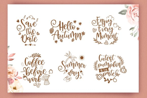 Holly Days Font Image