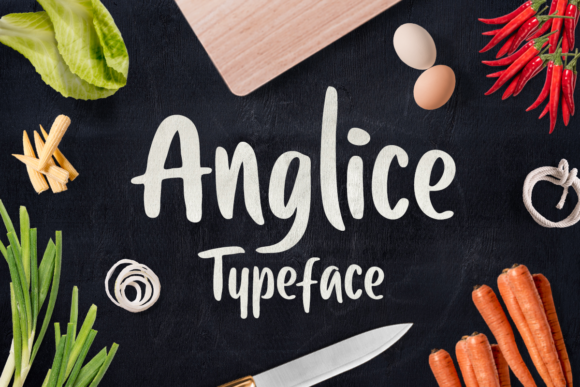 Print on Demand: Anglice Sans Serif Font By letterhend