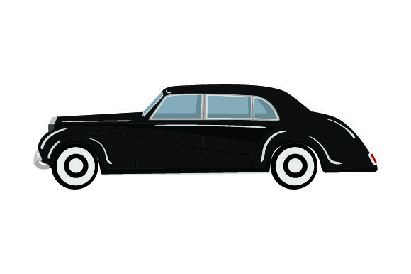 Download Free Black Classic Car Svg Cut File By Creative Fabrica Crafts for Cricut Explore, Silhouette and other cutting machines.