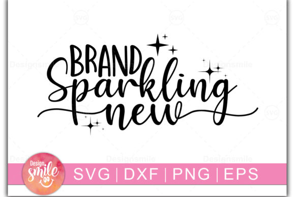 Print on Demand: Brand Sparkling New Graphic Crafts By DesignSmile