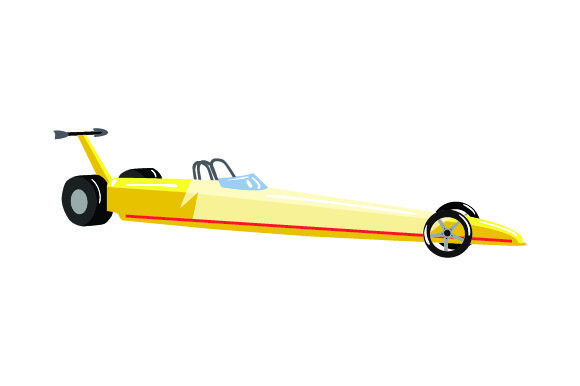 Drag Racer Craft Design By Creative Fabrica Crafts