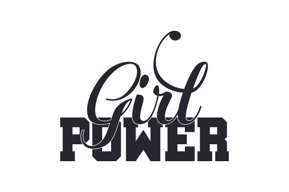Girl Power Quotes Craft Cut File By Creative Fabrica Crafts - Image 2