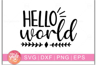 Print on Demand: Hello World Graphic Crafts By Designdealy