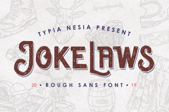 Print on Demand: Jokelaws Display Font By Typia Nesia - Image 1