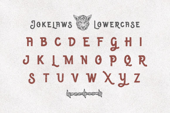 Print on Demand: Jokelaws Display Font By Typia Nesia - Image 7