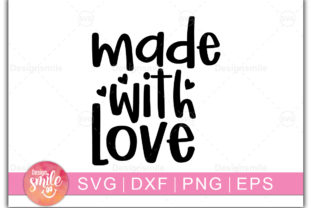 Print on Demand: Made with Love Graphic Crafts By Designdealy