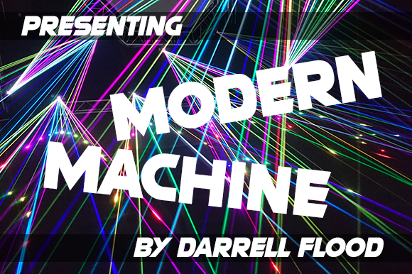 Modern Machine Sans Serif Font By Dadiomouse