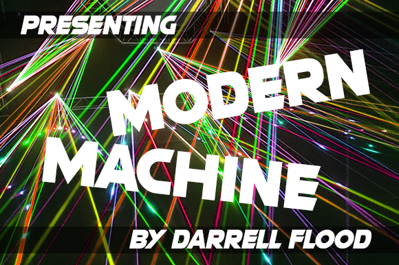 Print on Demand: Modern Machine Sans Serif Font By Dadiomouse - Image 2