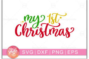 My 1st Christmas Graphic By DesignSmile