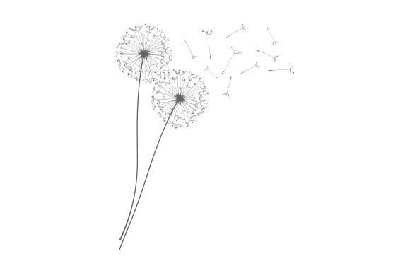 Dandelion Craft Design By Creative Fabrica Crafts