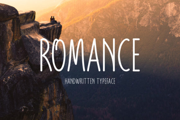 Print on Demand: Romance Script & Handwritten Font By FontEden